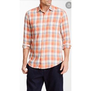 Vince Spring Plaid Button-down Shirt